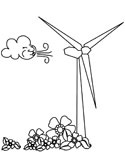 Wind Turbine coloring, Download Wind Turbine coloring for