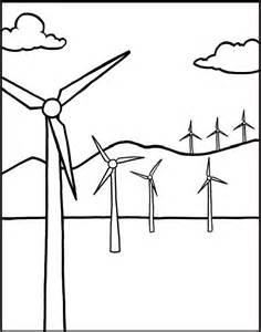 Wind Turbine coloring, Download Wind Turbine coloring