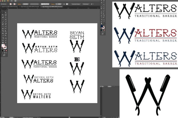 logo creation mockup