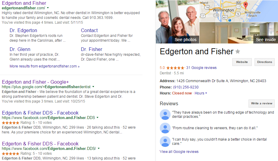 Edgerton And Fisher Search Engine Optimization