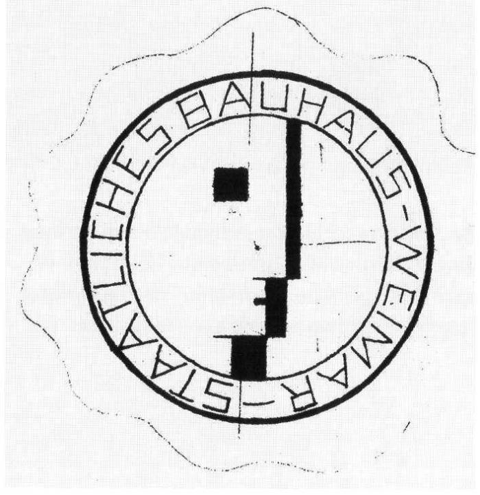 Design Luminy Bauhaus-Logo-Schlemmer-1922 Chronologie Bauhaus Chronologies Histoire du design Références