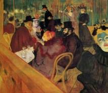 Design Luminy Toulouse-Lautrec-au-Moulin-Rouge-1892 Chaise Thonet n°14 - 1859 - Michael Thonet (1796-1871) Histoire du design Icônes Références  Thonet n°14 Thonet