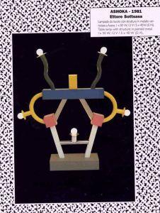 Design Luminy Ashoka-226x300 Ettore Sottsass - Sur la lumière électrique Histoire du design Références Textes  Lumière Ettore Sottsass