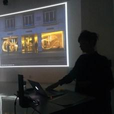 Design Luminy IMG_4565 Nathalie Dewez - Conférence et séance de travail en atelier Intervenants invités Work in progress  Nathalie Dewez Idir Messaoud Cassandre Aurick