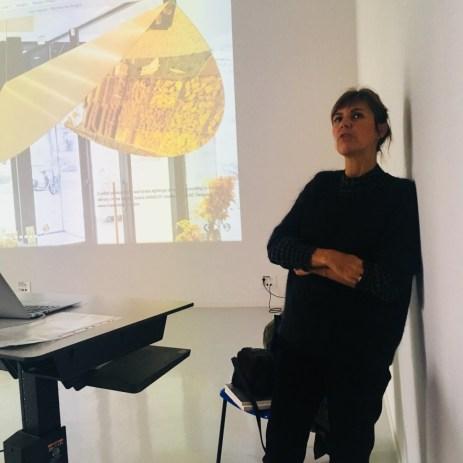 Design Luminy IMG_4593 Nathalie Dewez - Conférence et séance de travail en atelier Intervenants invités Work in progress  Nathalie Dewez Idir Messaoud Cassandre Aurick