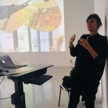 Design Luminy IMG_4595 Nathalie Dewez - Conférence et séance de travail en atelier Intervenants invités Work in progress  Nathalie Dewez Idir Messaoud Cassandre Aurick
