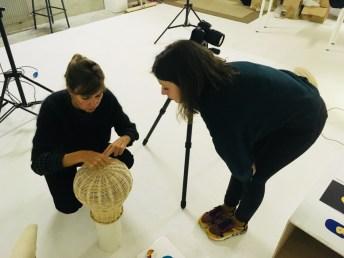 Design Luminy IMG_4611 Nathalie Dewez - Conférence et séance de travail en atelier Intervenants invités Work in progress  Nathalie Dewez Idir Messaoud Cassandre Aurick