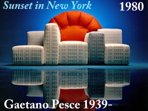 Design Luminy Sunset-in-New-York-1980-Gaetano-Pesce-1939-2 Sunset in New York 1980 Gaetano Pesce 1939 2
