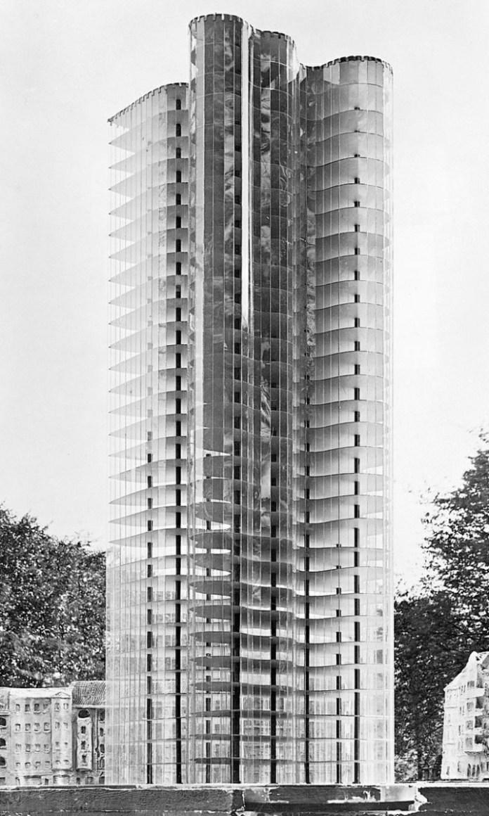 Design Luminy Gratte-ciel-en-Verre-Mies-1922 LudwigMies van der Rohe (1886, Aix-la-Chapelle -1969, Chicago) Histoire du design Références Textes  Mies van der Rohe