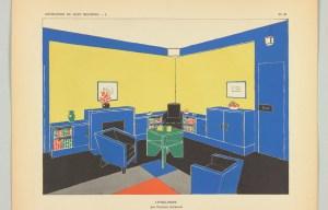 Design Luminy Living-room-Francis-Jourdain-1928-300x192 L'UAM, entre Luxe et Standard – Arlette Barré-Despond Histoire du design Références Textes  UAM Robert Mallet-Stevens Pierre Chareau