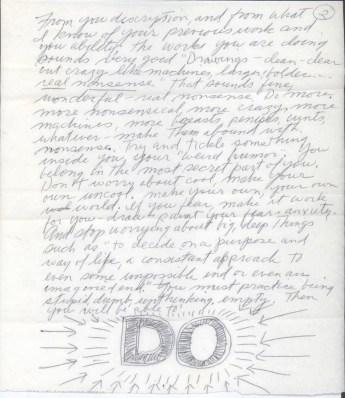 Design Luminy Sol-LeWitts-Letter-to-Eva-Hesse-Page-2 Lettre de Sol Lewitt à EvaHesse – 14Avril1965 Histoire du design Références Textes  Sol Lewitt Eva Hesse