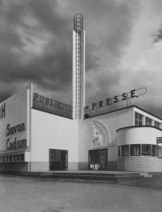 Design Luminy Pavillon-Presse-et-Publicite-Mallet-Stevens-Lille-1939 Pavillon Presse et Publicite Mallet Stevens Lille 1939