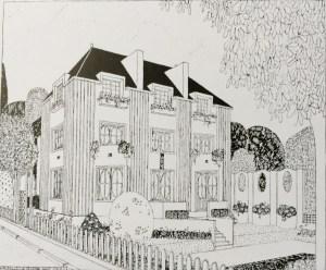 Design Luminy Villa-de-la-couturière-Jeanne-Paquin-Deauville Villa de la couturière Jeanne Paquin Deauville
