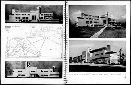 Design Luminy AA-1932-Villa-Cavroix-2 Robert Mallet-Stevens – La Villa Cavrois, Architecture d'Aujourd'hui, N° 8, nov 1932 Histoire du design Icônes Références Textes  Robert Mallet-Stevens