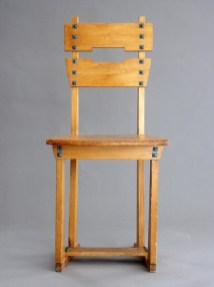 Design Luminy Chaise-Silex-1905 Gustave Serrurier-Bovy (1858-1910) – Mobilier Silex Histoire du design Icônes Références  Silex Gustave Serrurier-Bovy Art Nouveau