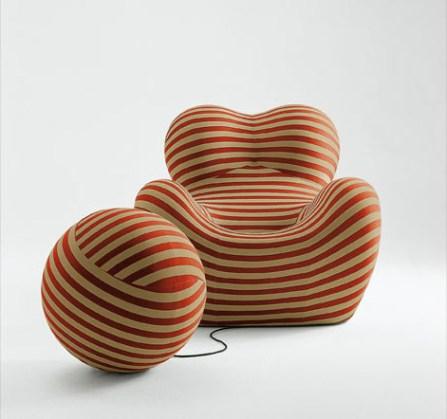 Design Luminy Up-Gaetano-Pesce-1969-10 Donna 1939 – Gaetano Pesce (1939-) Histoire du design Icônes Références  Up Pop Gaetano Pesce