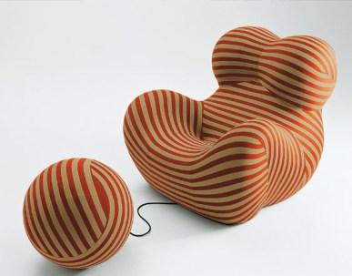 Design Luminy Up-Gaetano-Pesce-1969-13 Donna 1939 – Gaetano Pesce (1939-) Histoire du design Icônes Références  Up Pop Gaetano Pesce