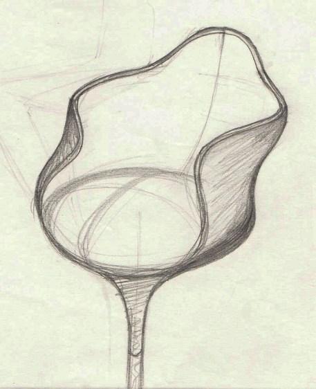 Design Luminy chaise-tulipe-saarinen-dessin_21647810705_o Chaise Tulipe 1956 – Eero Saarinen (1910-1961) Histoire du design Icônes Références  Tulipe Knoll Eero Saarinen