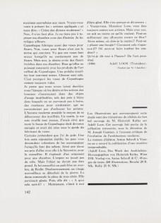 Design Luminy Tekhne-Loos-1931-11 Céramique, 1904 – Adolf Loos (1870-1933) Références Textes  ornement décor Adolf Loos