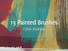 Paint Stroke Brushes