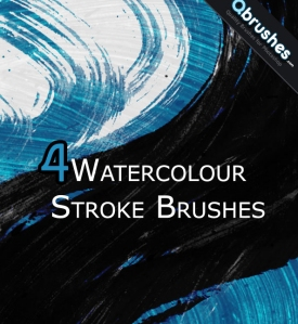 Watercolour Stroke Brushes