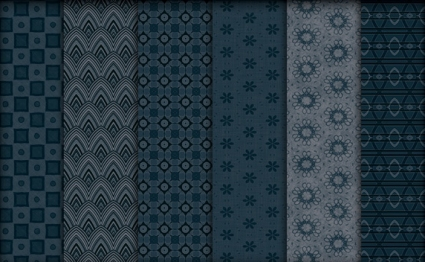 Midnight Blue Patterns