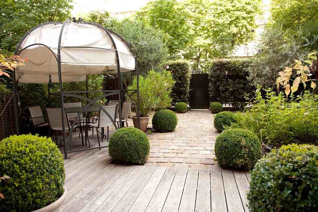 Jardin contemporain  30 ides damnagement