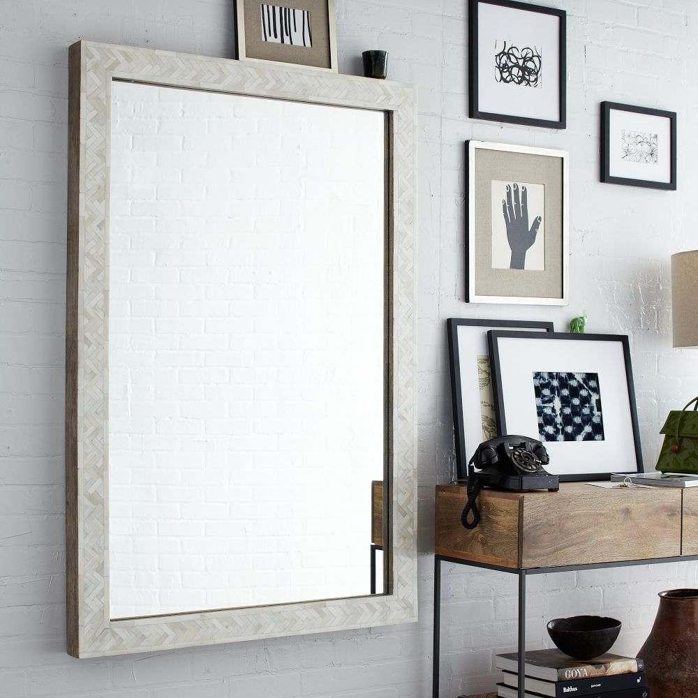 grand miroir design moderne meuble entree