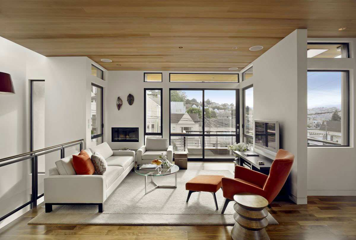 Wohnzimmerfenster Modern