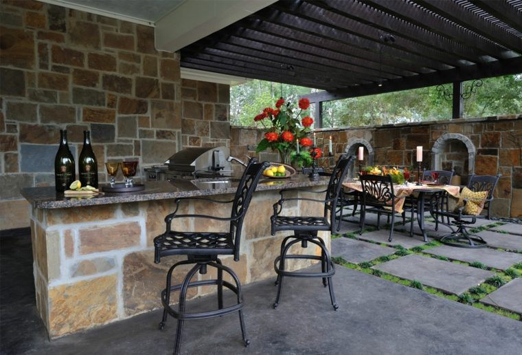 18 belles suggestions de pergola jardin contemporaine