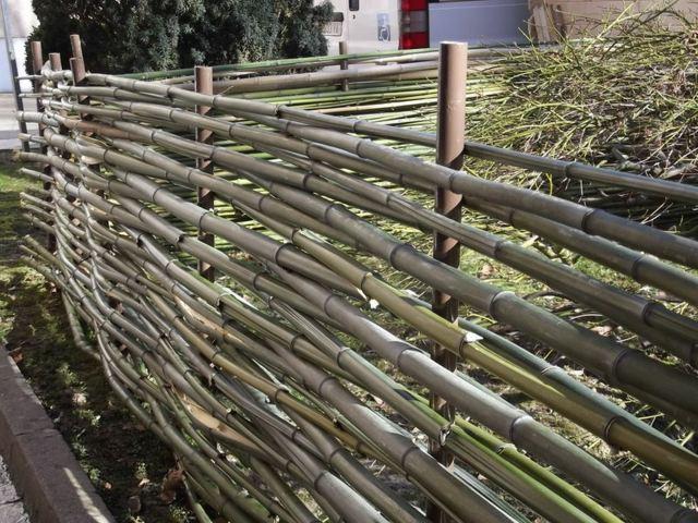 en bambou pour une touche orientale