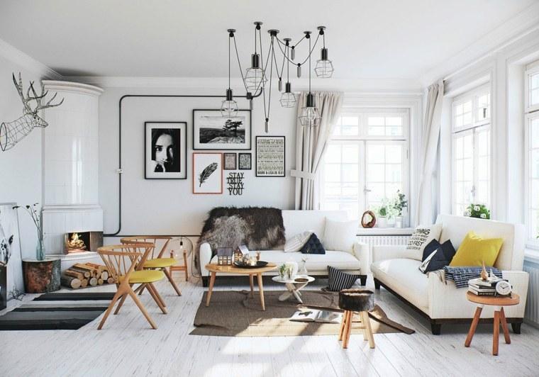 design scandinave 40 salons avec