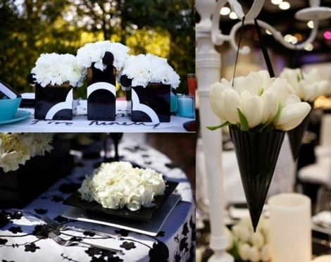 Noir et blanc  un marriage toujours lgant en 55 ides