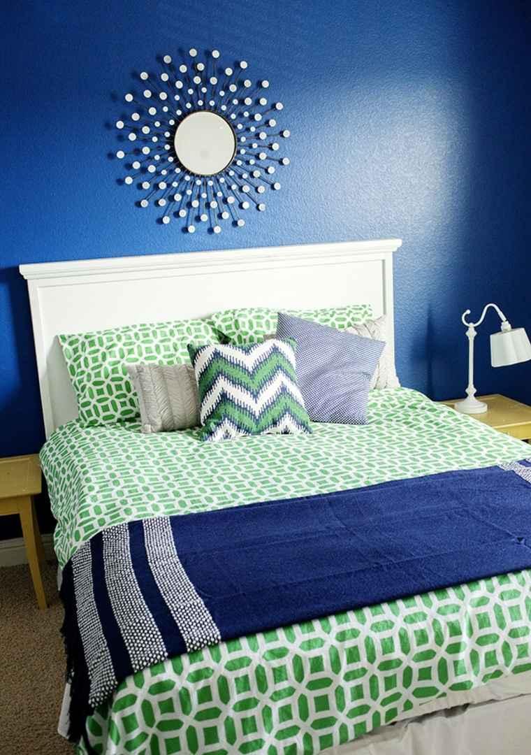 Dco chambre ado  murs en couleurs fraches en 34 ides