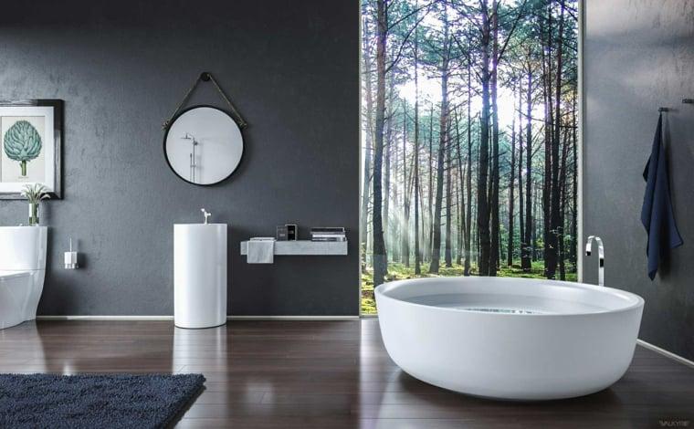 Salle de bain zen quilibre et harmonie  la maison