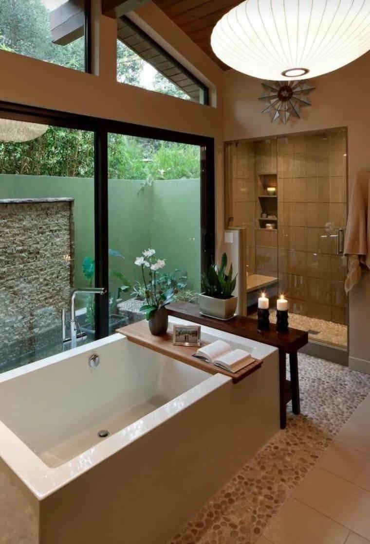 salle de bain zen equilibre et