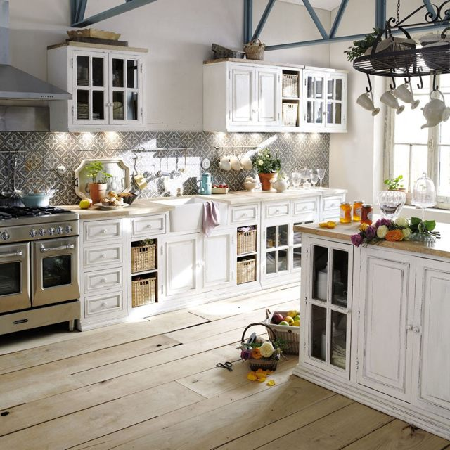 20 ides pour une belle cuisine en blanc de vos rves