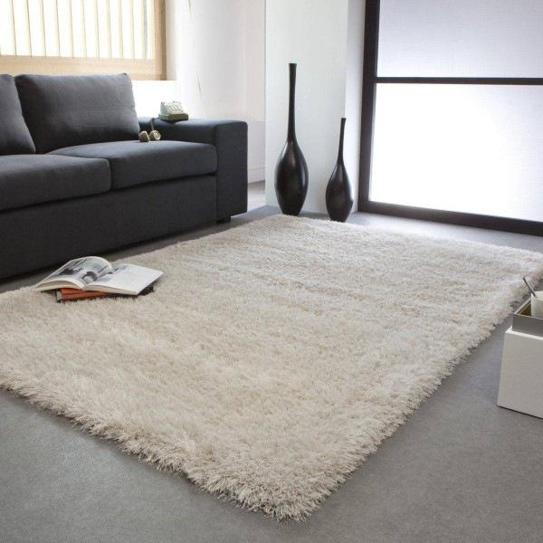Tapis shaggy pour une atmosphre douce et confortable