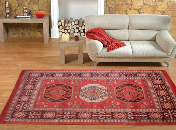 Crez votre ambiance chaleureuse avec un tapis salon ethno