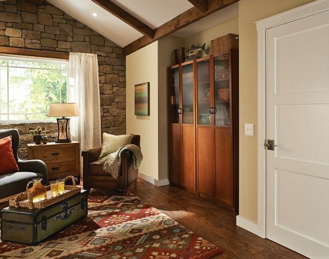 salon style rustique moderne 36 exemples