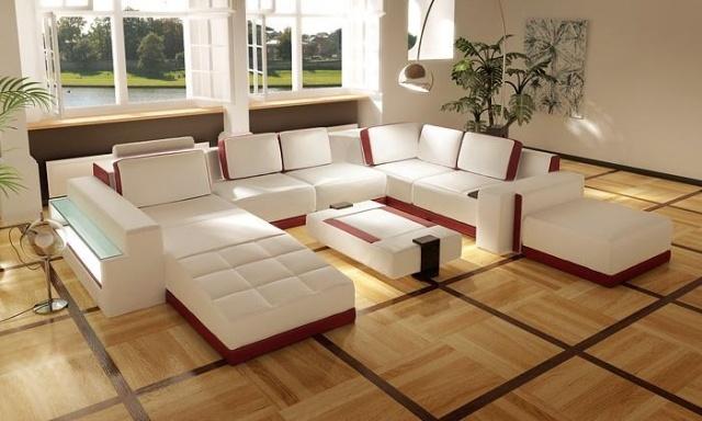 amenagement de salon meubles modernes