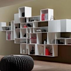 Wooden Wall Units Living Room Small Fireplace Layout Aménagement De Salon Meubles Modernes - 24 Idées Sympas