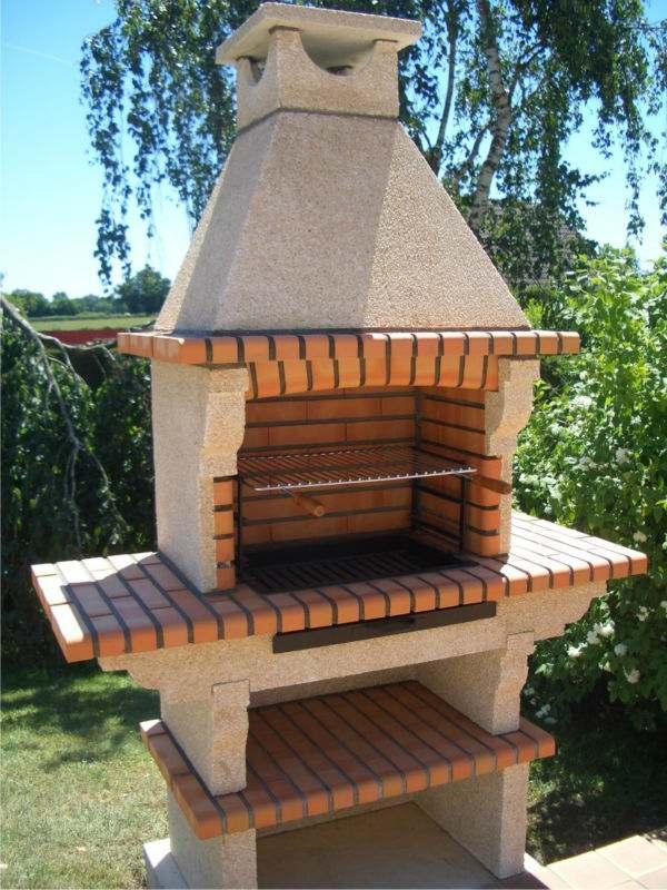 barbecue fixe fonctionnel et esthetique