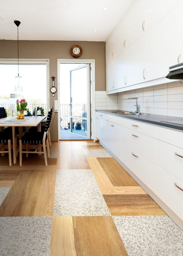 Stunning Salle A Manger Parquet Bois Pictures - Awesome Interior ...