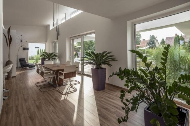 tapis de sol cuisine moderne