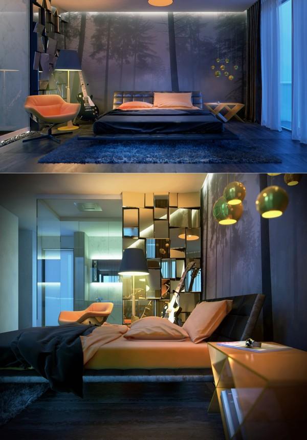 la chambre a coucher de luxe en
