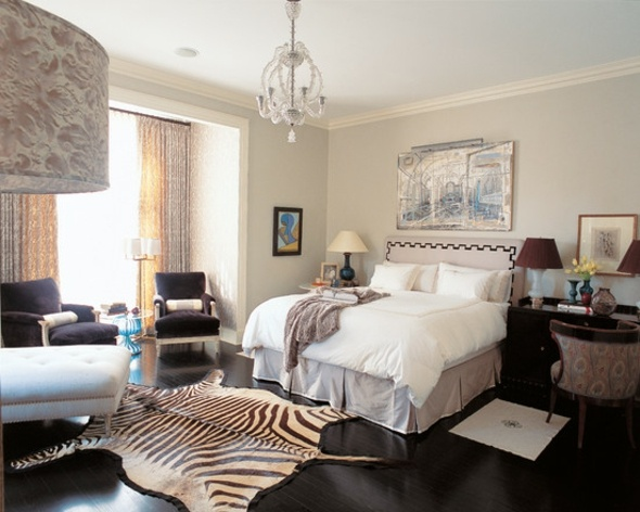 Le tapis zbr  une dcoration extravagante et moderne