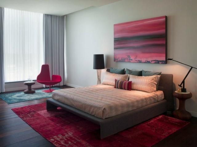 Les tapis persans donnent de la couleur  lintrieur