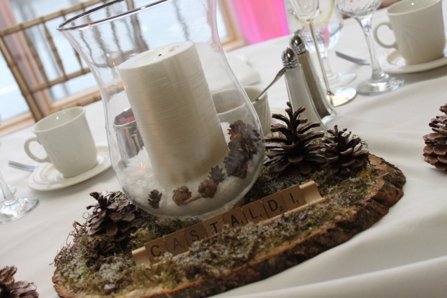 Dcoration De Table En Hiver 27 Ides Super Sympas Confort
