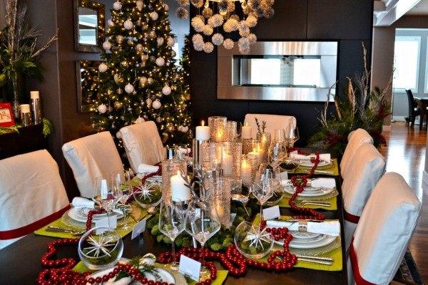 Dcoration Table De Nol Pour Une Belle Atmosphre De Fte